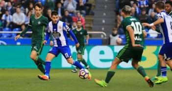 Carles Gil - Deportivo vs Betis