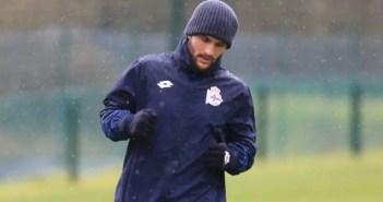 Florin Andone entrenamiento Deportivo