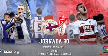 Jornada 30 Liga Santander Deportivo de La Coruña Granada