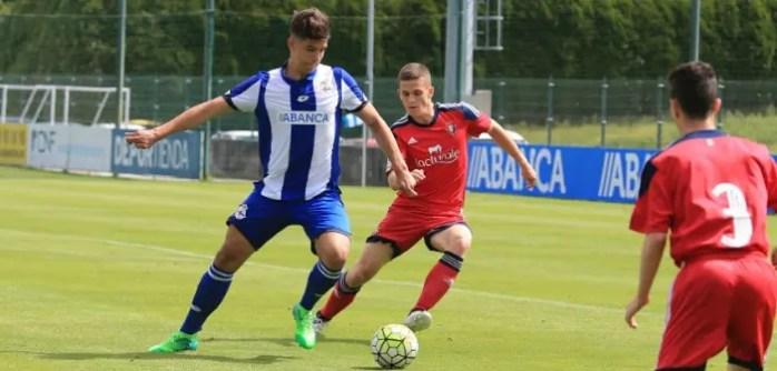 Pedro Alves Juvenil A vs Osasuna