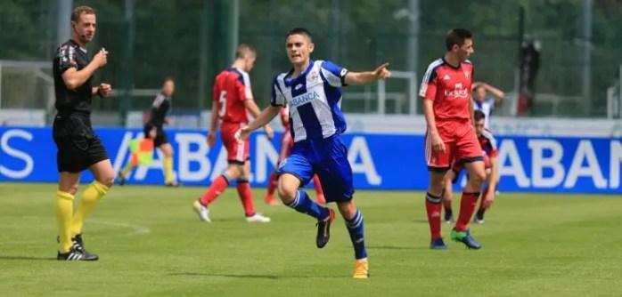 Sergio Ortuño Juvenil A vs Osasuna