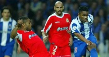 Imagen del partido entre Deportivo y Oporto en el 2004