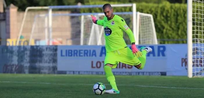 Rubén Martínez pretemporada Racing Vilalbes - Deportivo
