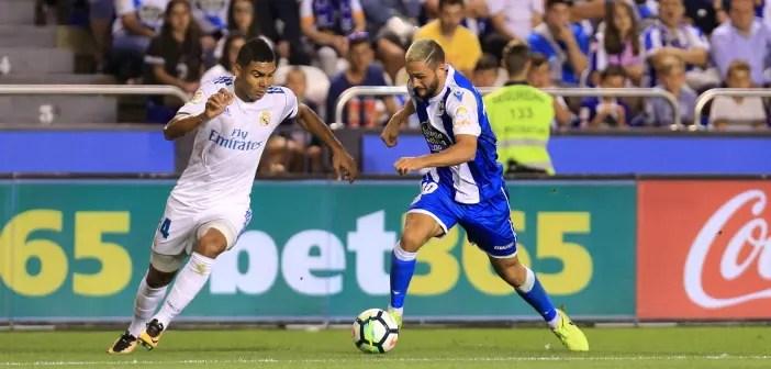 Florin Andone y Casemiro: Deportivo - Real Madrid