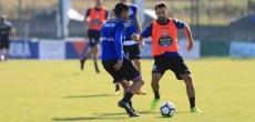 Bruno Gama entrenamiento Deportivo Coruña 22 de agosto 2017