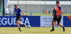 Fede Valverde: entrenamiento Deportivo Coruña 22 de agosto 2017