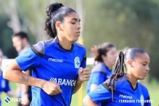Entreno Depor Femenino: Gaby y Kika