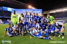 Memorial Moncho Rivera: Dépor - Corinthians: celebración