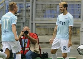 Luis Alberto vuelve a disfrutar del fútbol en la mejor Lazio del último lustro