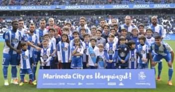 Deportivo, once inicial ante la UD Las Palmas