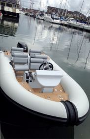 Rib-X Action 1 Superyacht Tender