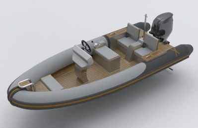 Rib-X Firebird5 Superyacht Tender
