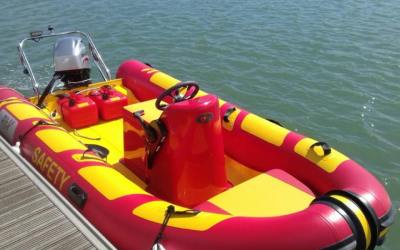 Rib-X Explorer 4.5m Safety Boat | £14,500