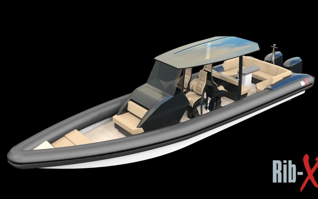 11.5m Custom Rib-X enters production for 2021