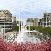 Winner Graeme Massie Architects Birmingham Centenary