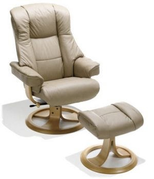 leather swivel recliner chair and stool unique chairs design elano best pvc