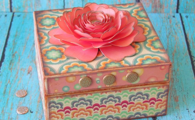 Wood Dollar Store Box
