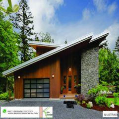 Rangka Baja Ringan Atap Miring Bangun Rumah Cara Pakai Rib Design