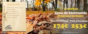 Ofertas otoño. Turismo rural