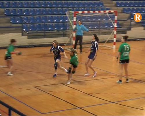 Handbol Ribera Alta Audiovisión Alzira – Elda B, partit del 29 de març de 2014 Primera Part
