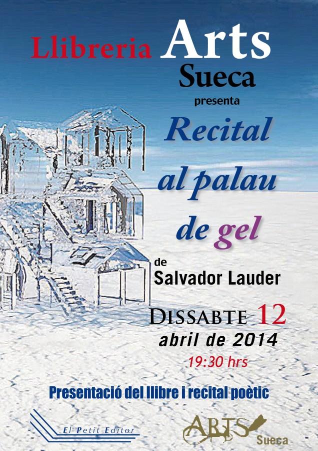 Sueca acollirà la presentació del nou poemari del reconegut poeta valencià Salvador Lauder