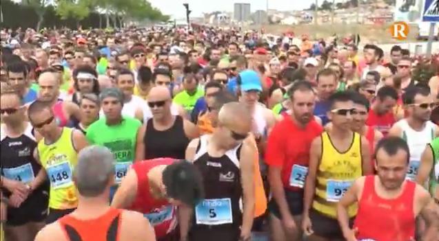Mes de 1200 persones han participat en la carrera 10 km ciutat d'Alzira