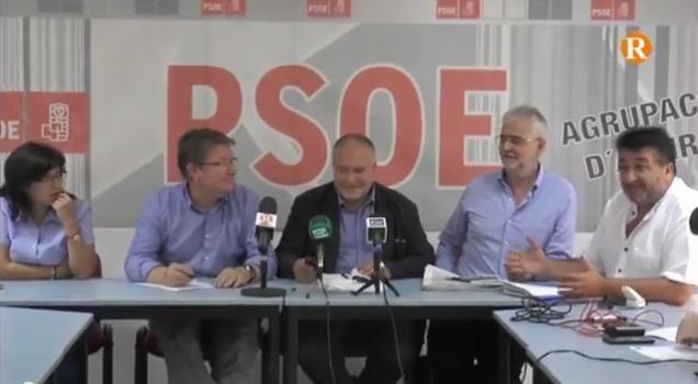 """El PSPV-PSOE considera """"indecent"""" que es paguen campanyes amb els diners de la venda de l'aigua"""