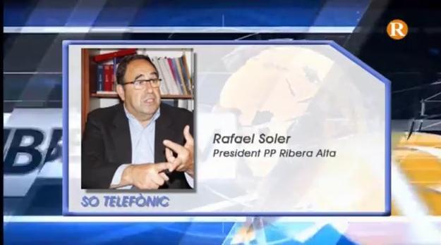 El PP de la Ribera Alta no vol la presa d'Alarcó