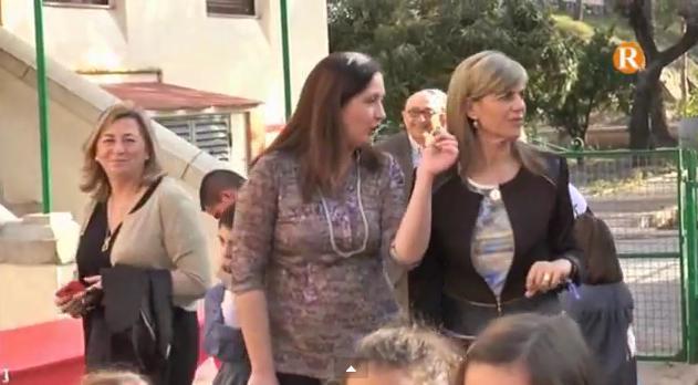 """La consellera de Benestar Social visita el Centre d'Acollida de Menors  """"Nostra Senyora dels Desemparats de Carcaixent"""""""