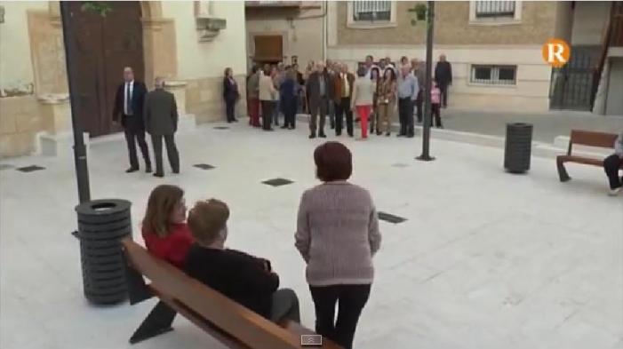 El Director General de Producció Agrària inaugura a Massalavés la torre medieval i la plaça Jaume I
