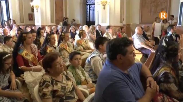Alzira celebra la tradicional ofrena de flors i fruits a la seua Patrona