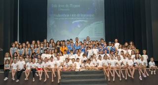La VII  Gala Jove de l'Esport d'Almussafes reunix 128 esportistes d'elit