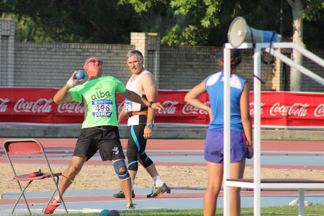Participación de atletas del c.a. la Rabosa en campeonatos de España de Atletismo