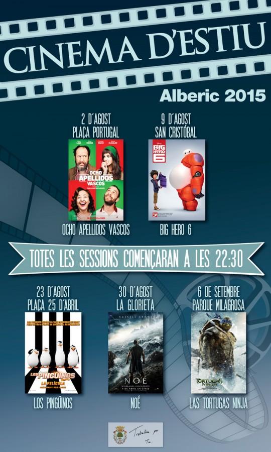 Alberic celebra las fiestas de Sant Llorenç Màrtir con una variada oferta cultural y la vuelta del cine de verano