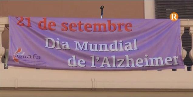 Guadassuar se suma al Dia Mundial contra l'Alzheimer amb una globotada