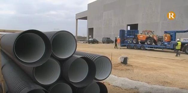 Els treballs de la Nova Planta de Residus avancen favorablement a Guadassuar
