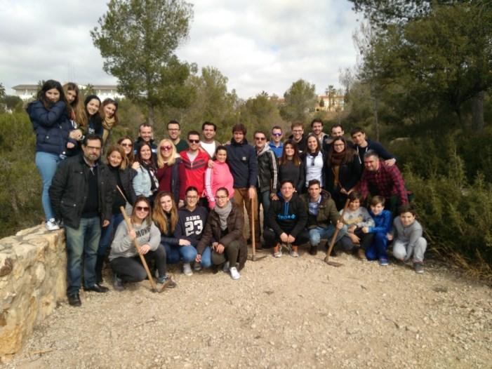 Día del Árbol. NNGG Ribera Alta celebra su IV Jornada de Reforestación en Gavarda