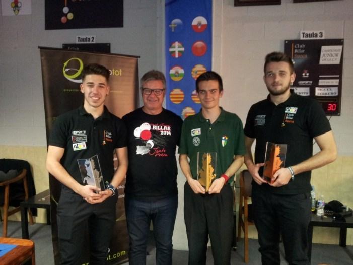 Campionat Comunitat Valenciana 3 Bandes Sub-21