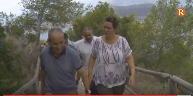 La  senda de la cima del parc natural del penyal d'Ifac torna a estar oberta al públic