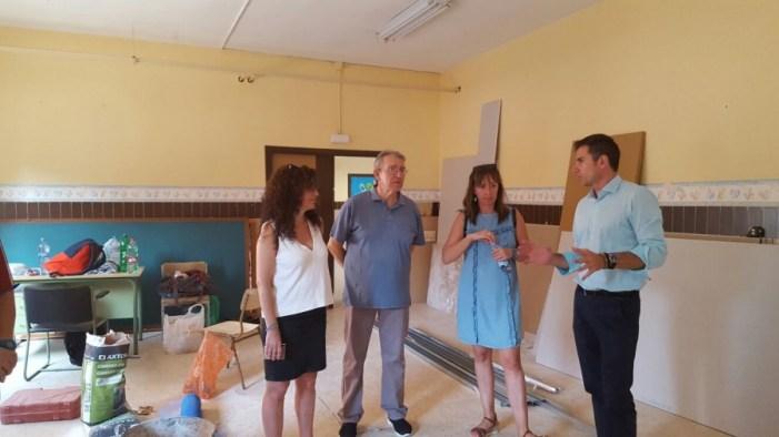 Comencen les obres d'adequació de l'aula de 2 anys al Francesc Pons