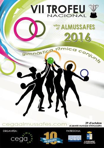 Almussafes, seu del VII Trofeu Nacional 'Vila d'Almussafes' de gimnàstica rítmica