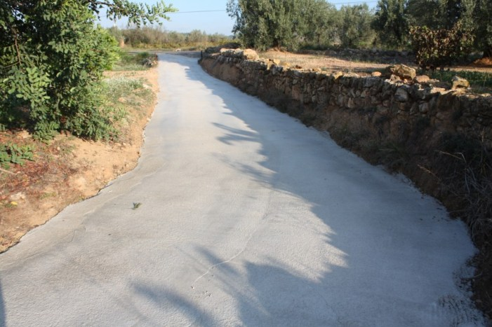 Acondicionament de camins Ajuntament de Turís