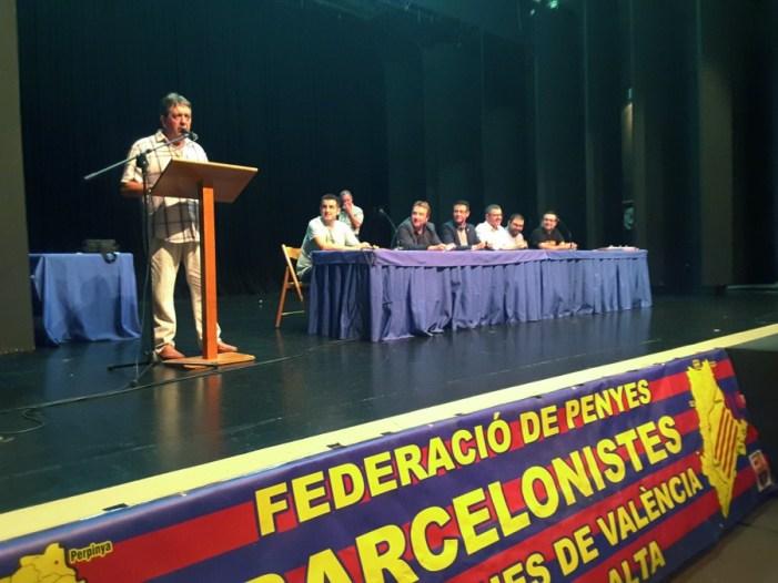 Les Penyes Barcelonistes de València i Marina Alta es donen cita a Almussafes