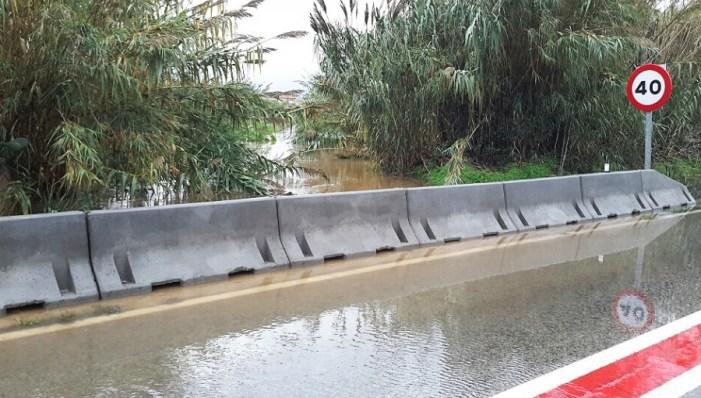 La Diputación cortará por precaución las carreteras que puedan ser peligrosas con las fuertes lluvias que se esperan el fin de semana