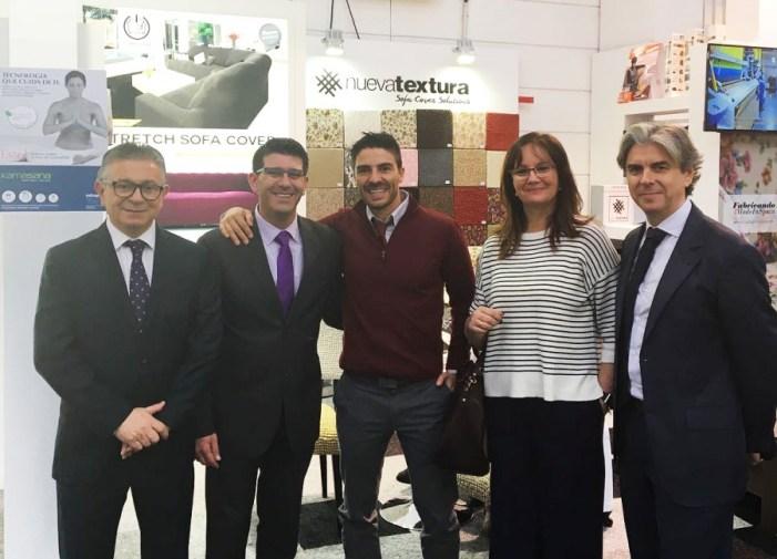 """Jorge Rodríguez: """"El sector textil  valenciano es uno de los grandes  motores de la reindustrialización"""""""