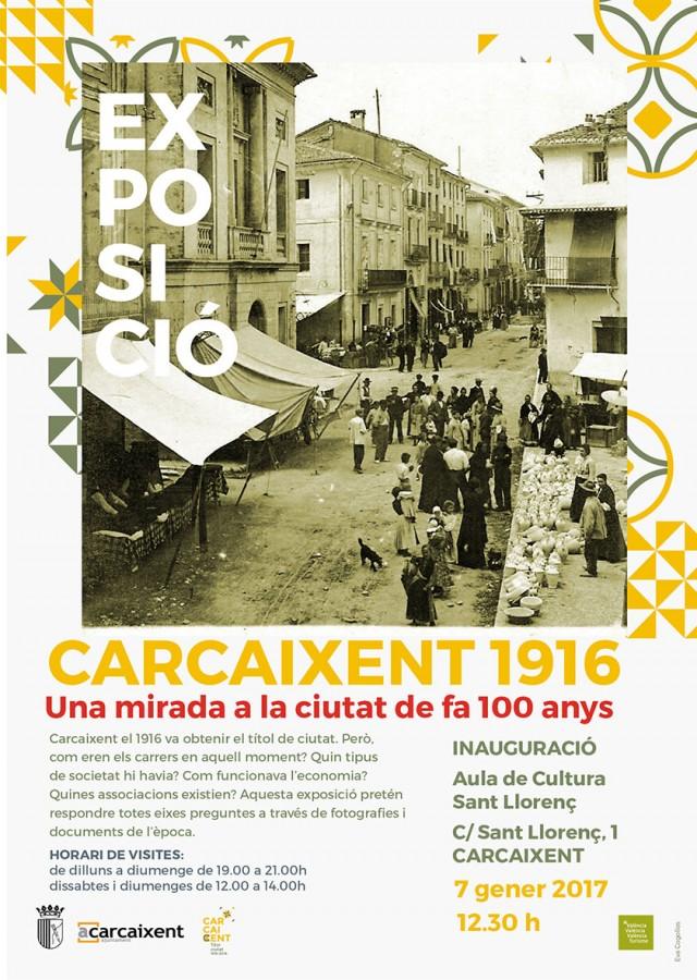 Una exposició tancarà la commemoració del centenari de Carcaixent com a ciutat