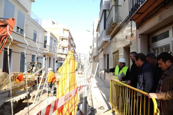 Cullera inicia la reurbanització de l'eix que unix el centre amb la zona turística