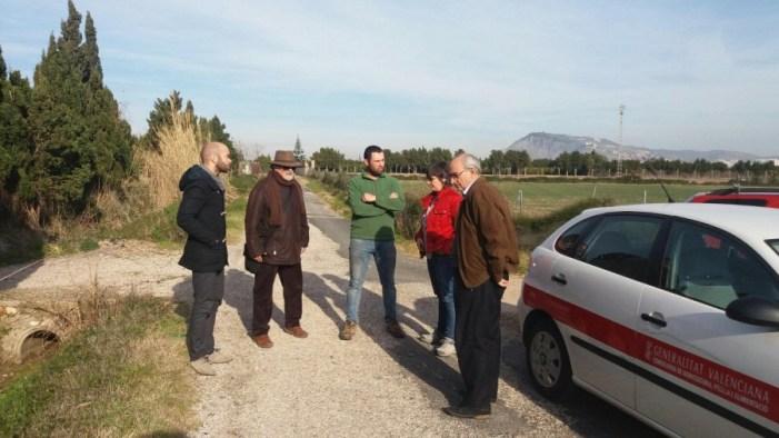 Cullera rebrà altres 50.000 euros del Consell per a asfaltar camins rurals
