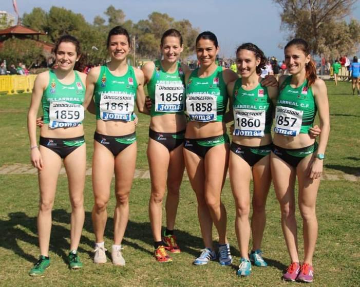 L'almussafenya Laura Méndez, bronze junt amb el seu equip en el nacional de clubs de camp a través