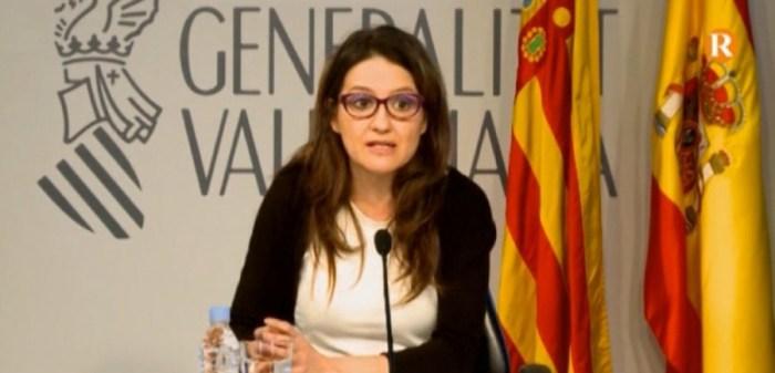 Oltra explica l'informe d'intervenció de Generalitat sobre el servei públic concertat de diagnòstic